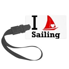 i-love-sailing.png Luggage Tag
