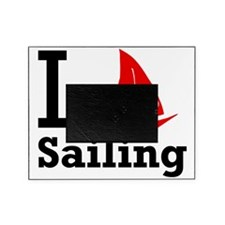 i-love-sailing.png Picture Frame