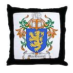 MacDaniel Coat of Arms Throw Pillow