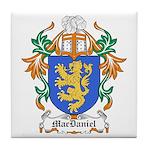 MacDaniel Coat of Arms Tile Coaster