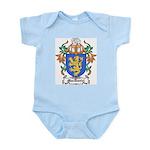 MacDaniel Coat of Arms Infant Creeper