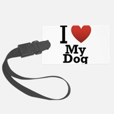 i-love-my-dog.png Luggage Tag