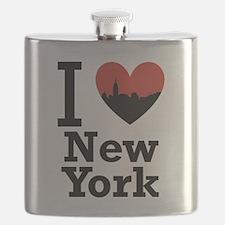 I love New York Flask