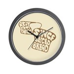 Best Thing Since Sliced Bread Wall Clock
