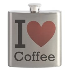 I love coffee Flask