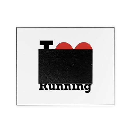 I Love Running Picture Frame
