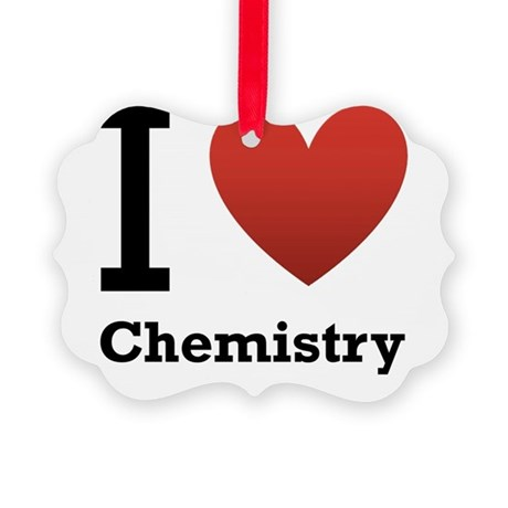 i-love-chemistry.png Picture Ornament