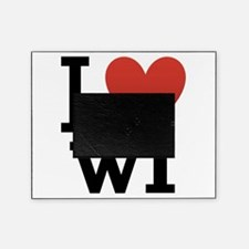 I-love-wisconsin.png Picture Frame