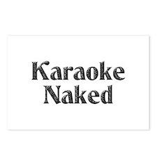 Karaoke Naked Postcards (Package of 8)