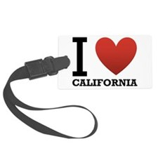 i-love-california.png Luggage Tag