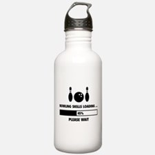 Bowling Skills Loading Water Bottle