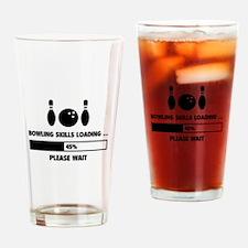 Bowling Skills Loading Drinking Glass