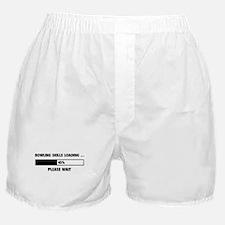 Bowling Skills Loading Boxer Shorts