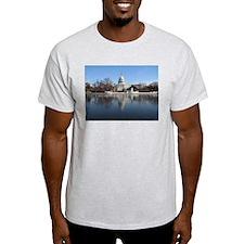 US Capitol Building Winter Photo T-Shirt