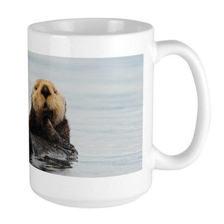 Alaskan Sea Otter Large Mug