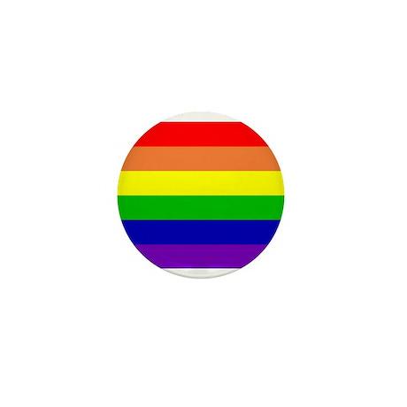 Rainbow Flag Mini Button (10 pack)