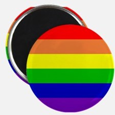 "Rainbow Flag 2.25"" Magnet (100 pack)"