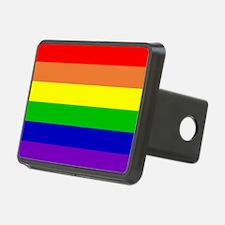 Rainbow Flag Hitch Cover
