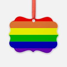 Rainbow Flag Ornament