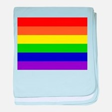 Rainbow Flag baby blanket