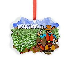 Montana Picture Ornament