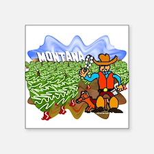 """Montana Square Sticker 3"""" x 3"""""""
