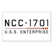 USS Enterprise Original Dark Decal