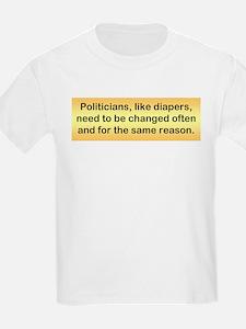Politicians & Diapers T-Shirt