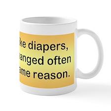Politicians & Diapers Mug