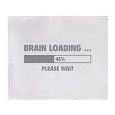 Brain Loading Throw Blanket