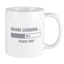 Brain Loading Small Small Mug