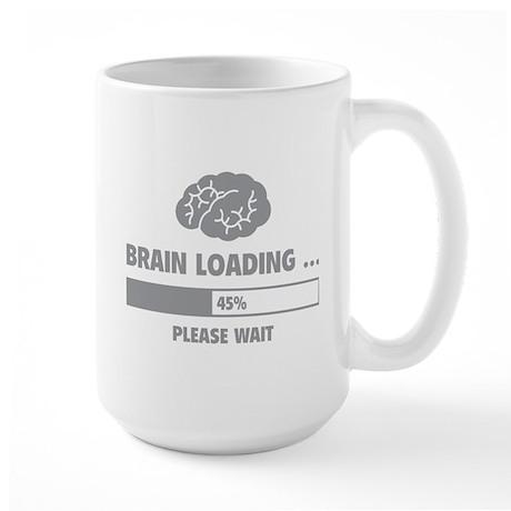 Brain Loading Large Mug