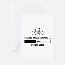 Cycling Skills Loading Greeting Cards (Pk of 10)