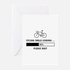 Cycling Skills Loading Greeting Cards (Pk of 20)