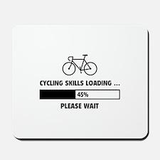 Cycling Skills Loading Mousepad