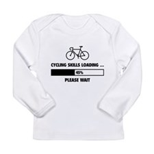 Cycling Skills Loading Long Sleeve Infant T-Shirt
