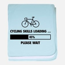 Cycling Skills Loading baby blanket