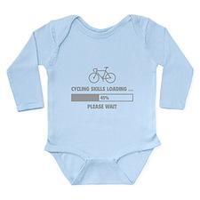 Cycling Skills Loading Long Sleeve Infant Bodysuit