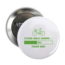 """Cycling Skills Loading 2.25"""" Button (10 pack)"""