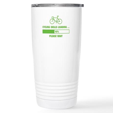 Cycling Skills Loading Stainless Steel Travel Mug