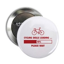 """Cycling Skills Loading 2.25"""" Button"""