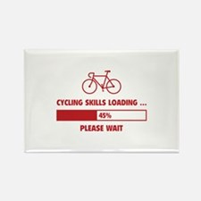 Cycling Skills Loading Rectangle Magnet (10 pack)