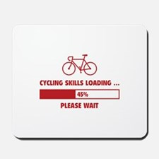 Cycling Skills Loading Mousepad