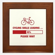 Cycling Skills Loading Framed Tile