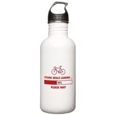Cycling Skills Loading Sports Water Bottle