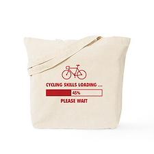 Cycling Skills Loading Tote Bag