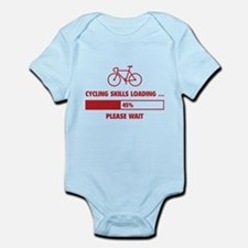 Cycling Skills Loading Infant Bodysuit