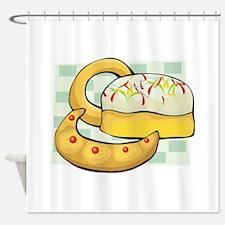 Doughnut Shower Curtain