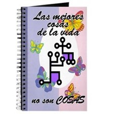 Best Things aren't Things SPANISH Journal