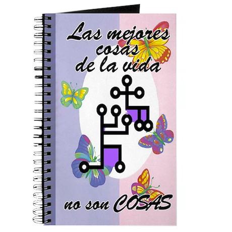 Best Things aren't Things SPANISH Journal